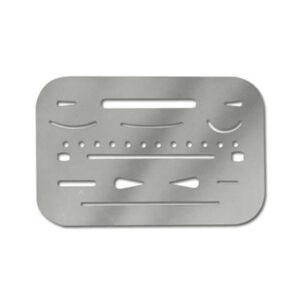 Alvin Erasing Shield Stainless Steel