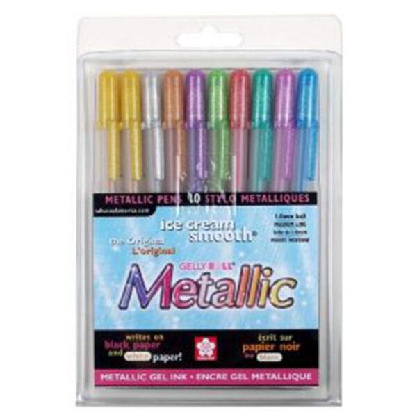 Sakura Gelly Roll Metallic Set 10
