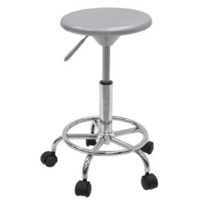 Studio Design Office Stool Silver