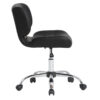 Studio Designs Black Crest Office Chair Side