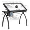 Studio Designs Futura Light Table Dimensions