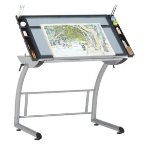 Studio Designs Triflex Drawing Table Front