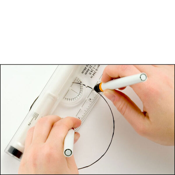 Accurit Rolling Ruler Circle