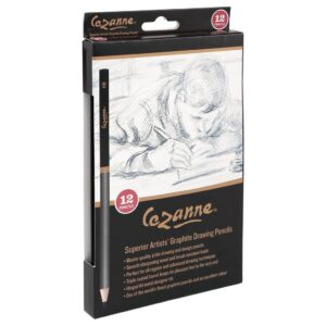 Cezanne Graphite Pencil Set of 12 Angled