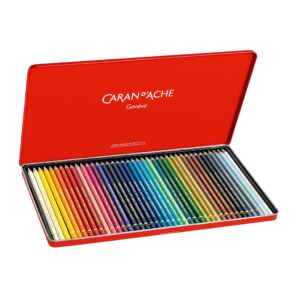 Caran D Ache Pablo Pencil Set of 40 Open