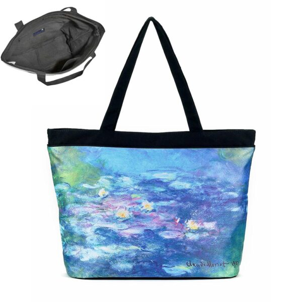 Galleria Tote Bag - Monet Waterlillies