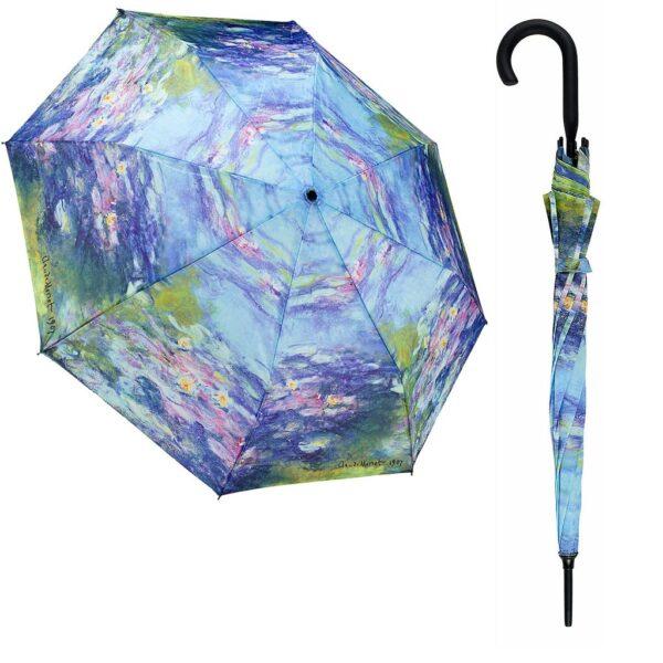 Galleria Umbrellas Monet Water Lilies - Stick