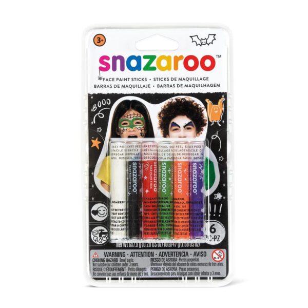Snazaroo Face Paint Stick Sets - Halloween 6pc