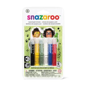 Snazaroo Face Paint Stick Sets - Rainbow 6pc