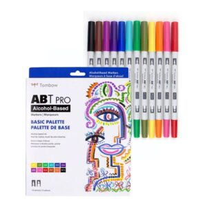 Tombow ABT Pro Basic Palette Set of 12