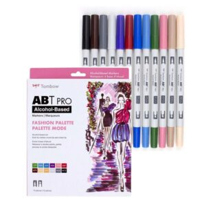 Tombow ABT Pro Fashion Palette Set of 12