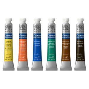 Winsor and Newton Cotman Watercolor Tubes
