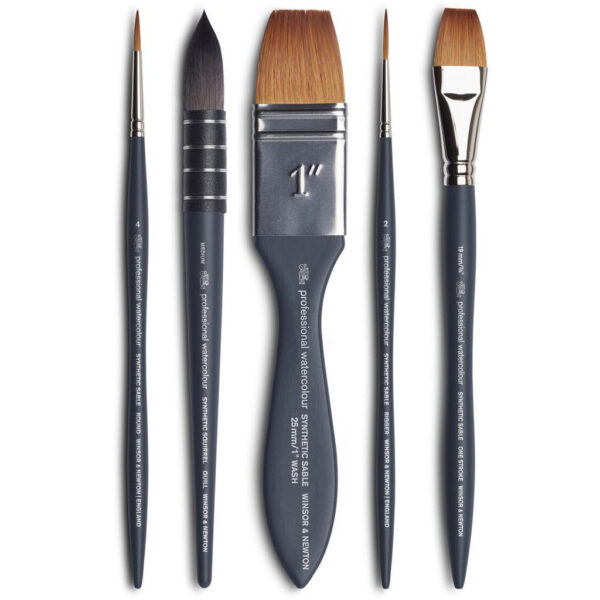 Winsor and Newton Professional Watercolor Brushes